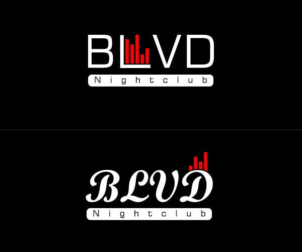 Contest Entry #9 for Design a Logo for nightclub called BLVD