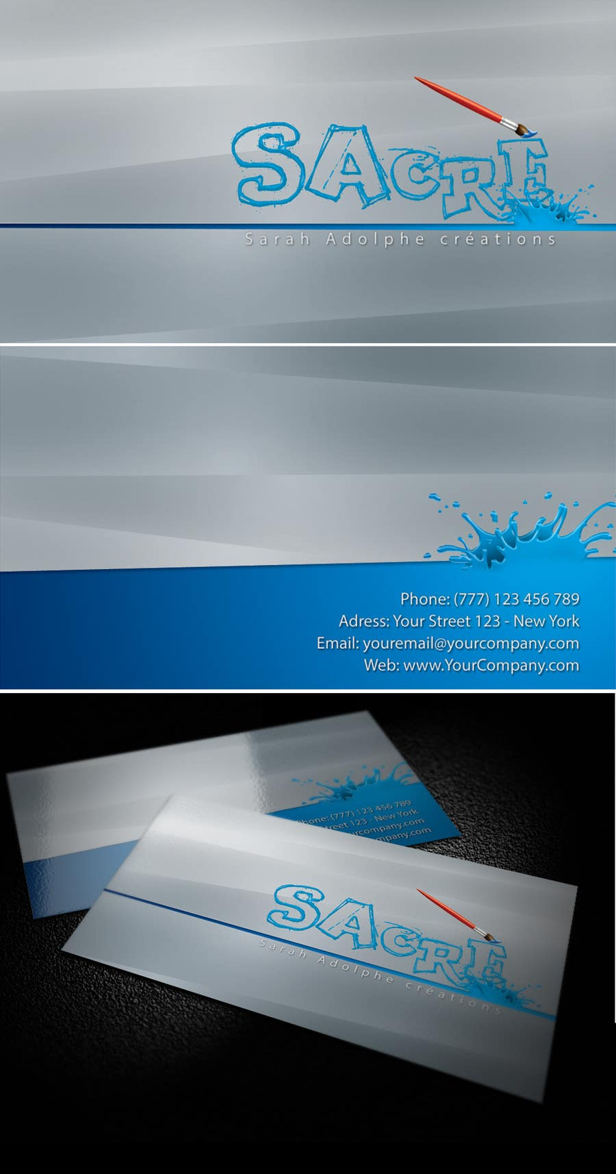 #37 for Design a Logo for Handmade brand with business card too by junetditsecco