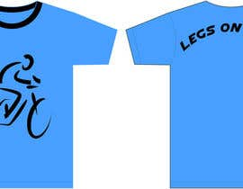 "nº 10 pour Biking jersey design for ""Legs on Legs"" par julifu08"