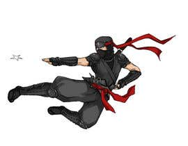 nº 7 pour Redesign ninja character and create 3 poses in vector par thuynguyen13