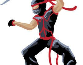 #1 untuk Redesign ninja character and create 3 poses in vector oleh eduardobravo
