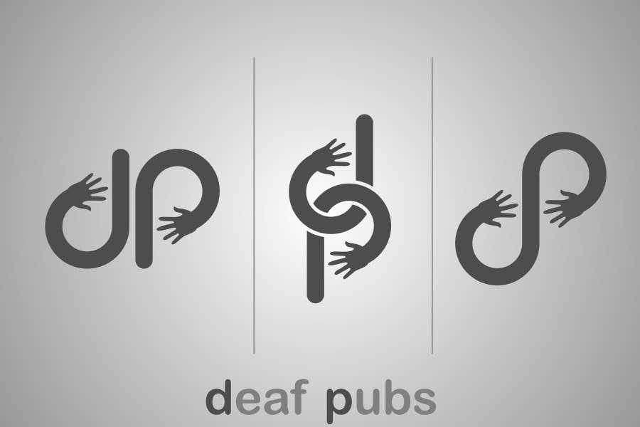 Penyertaan Peraduan #27 untuk Design a Logo for Deaf Pubs
