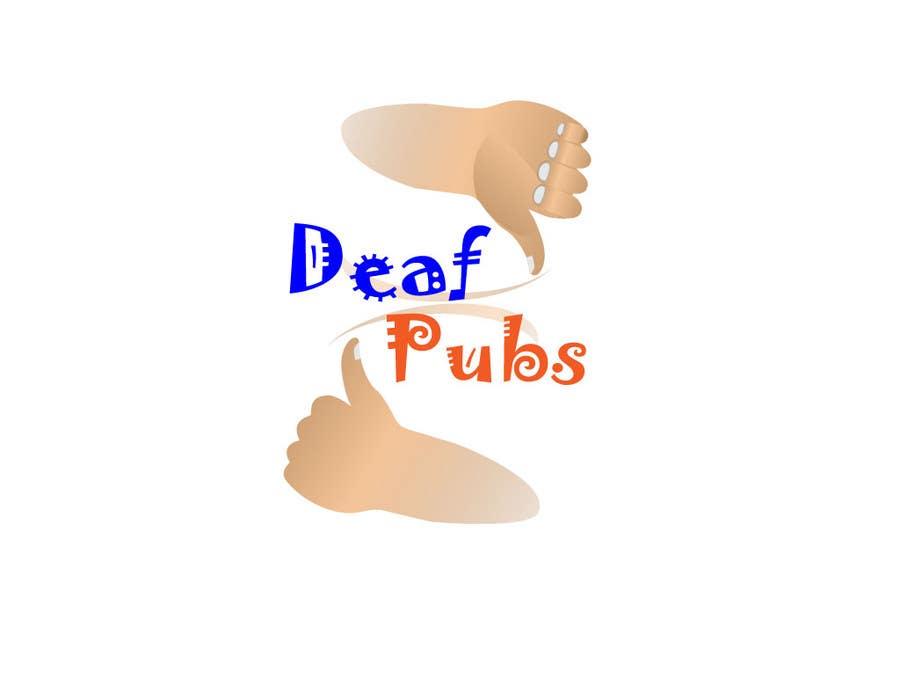 Penyertaan Peraduan #50 untuk Design a Logo for Deaf Pubs