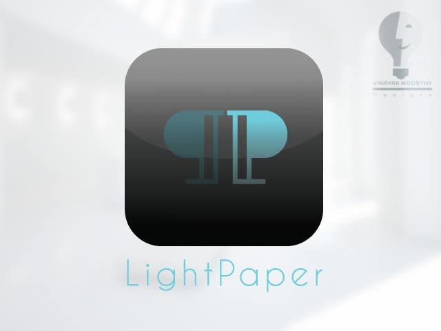 #101 for Design a Logo for LightPaper app by moorvina