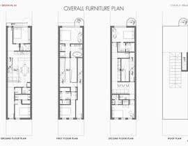 #50 para Layout a 2 family/3 story  townhouse por arzumanyan