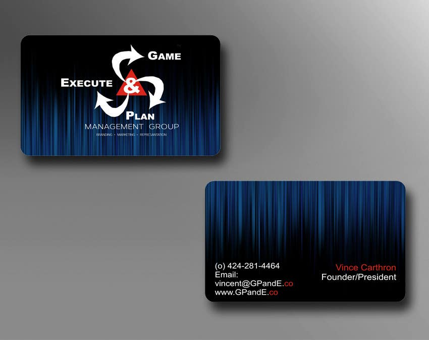 Contest Entry #17 for Design Spot Gloss Business Card with Rounded Corners