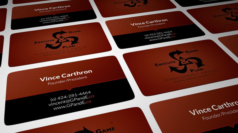 Contest Entry #4 for Design Spot Gloss Business Card with Rounded Corners