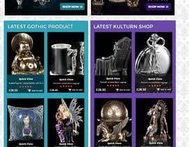#42 for Redesign Gothic/Fantasy webshop (5 pages) af MagicalDesigner