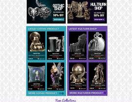 #73 for Redesign Gothic/Fantasy webshop (5 pages) af MagicalDesigner