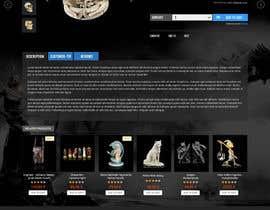 #49 for Redesign Gothic/Fantasy webshop (5 pages) af seguro