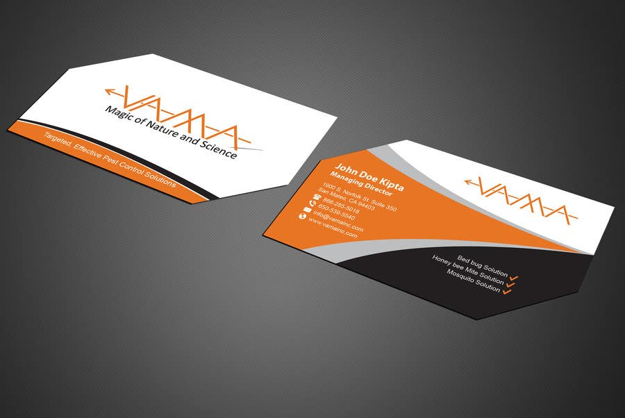 Entry #145 by mamun313 for Design Unique Amazing Business Cards ...