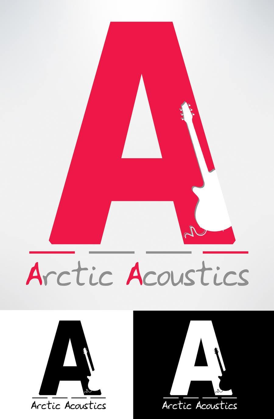 """Proposition n°17 du concours Design a Company Logo for """"Arctic Acoustics"""""""