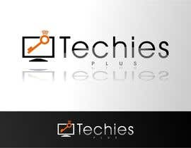 nº 70 pour Design a Logo for my new business TECHIES PLUS par eremFM4v
