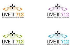 #8 untuk Design a t shirt for Live it 712 Cross oleh commharm