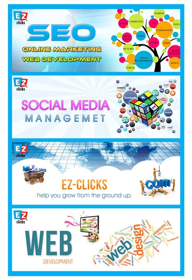 Konkurrenceindlæg #10 for Design a Banner for my Website