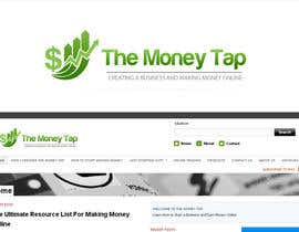 #99 para Design a Logo for my online Blog: The Money Tap por nabudhukka