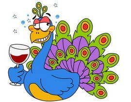 #1 for Boozy Peacock Mascot Design af Stevieyuki