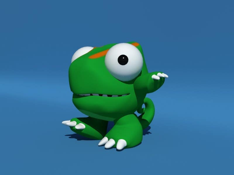#24 for Design 3 cute game characters (3D) by fatamorgana
