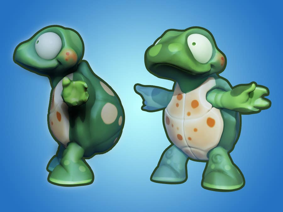 #44 for Design 3 cute game characters (3D) by RubenDev