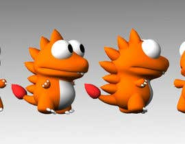 #53 para Design 3 cute game characters (3D) por Shift2ArtStudio