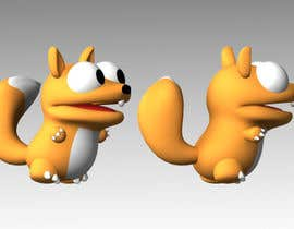 #54 for Design 3 cute game characters (3D) by Shift2ArtStudio