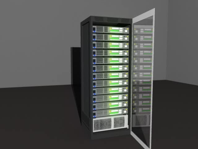 Contest Entry #7 for Do some 3D Modelling for Server Rack