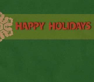 #32 для Graphic Design for A new holiday card project for the CFP Board от waltdiz