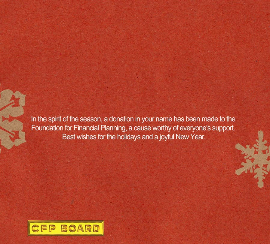 Contest Entry #30 for Graphic Design for A new holiday card project for the CFP Board