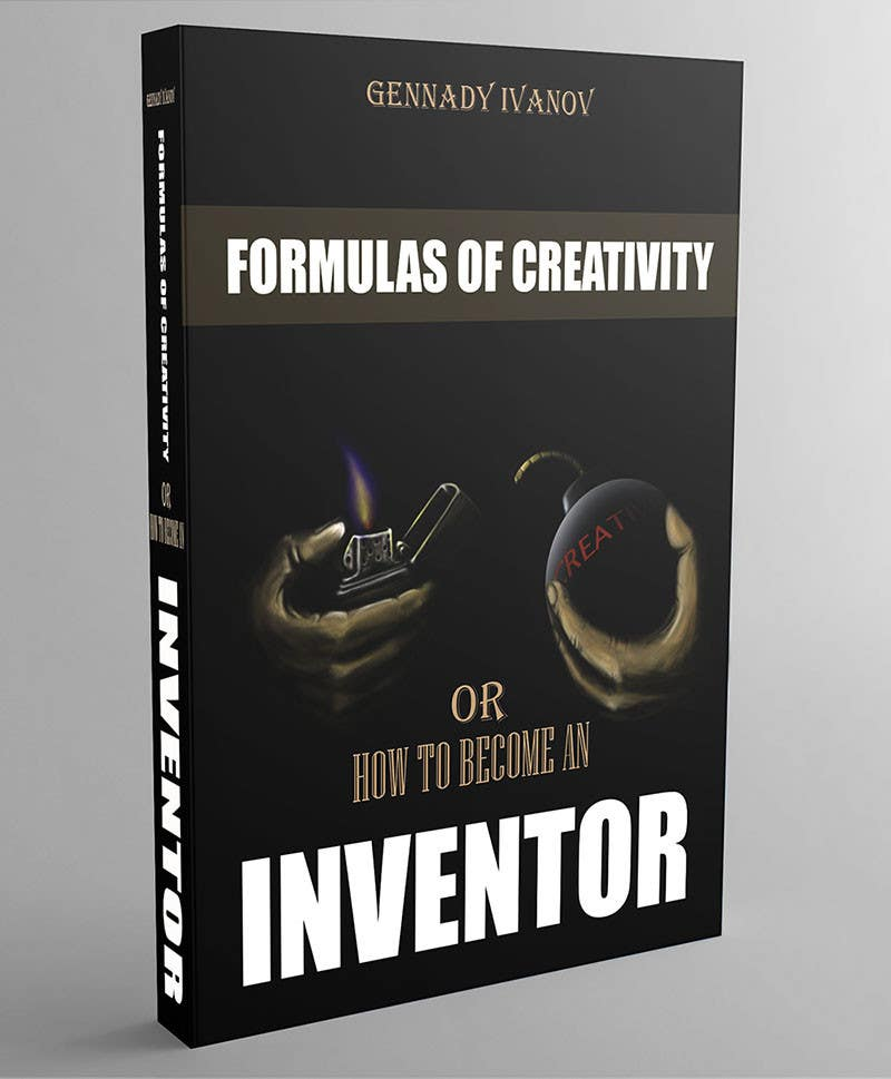 """Kilpailutyö #23 kilpailussa Illustrate the cover of the book """"FORMULAS OF CREATIVITY OR HOW TO BECOME AN INVENTOR"""" for me"""