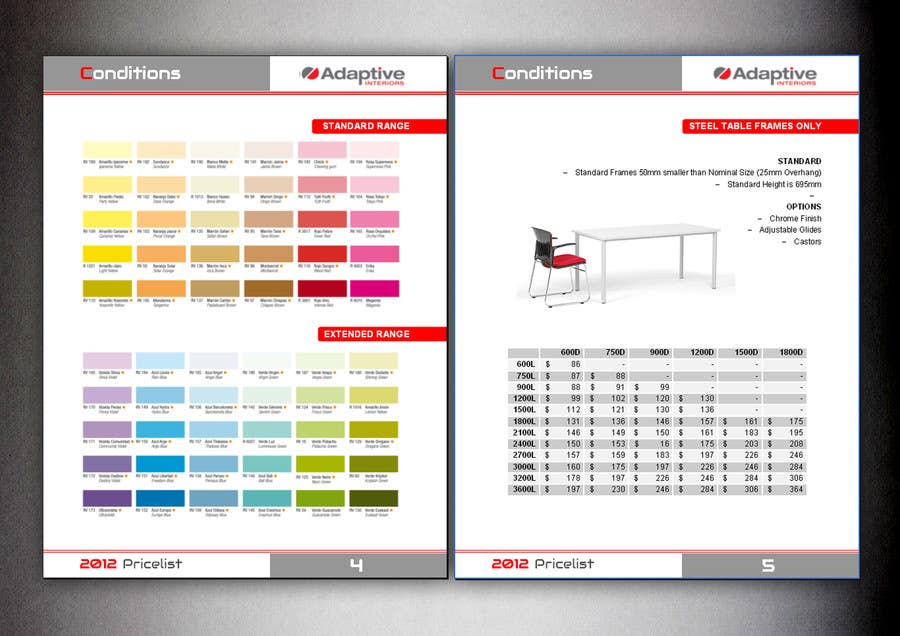 #8 for Design a Brochure for some commercial office furniture by nad300882
