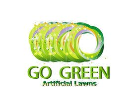 #740 para Logo Design for Go Green Artificial Lawns por enigmaa