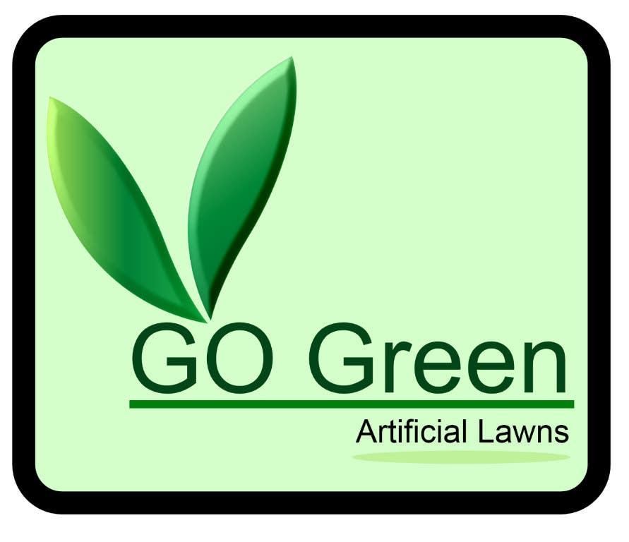 Bài tham dự cuộc thi #                                        684                                      cho                                         Logo Design for Go Green Artificial Lawns
