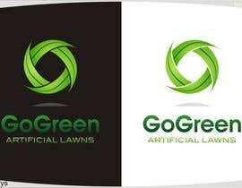 #501 untuk Logo Design for Go Green Artificial Lawns oleh innovys