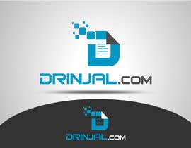 #43 para Design a Logo for DRINJAL.com por texture605
