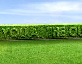 #49 cho I need some Graphic Design for a strapline cut in a hedge bởi peshan