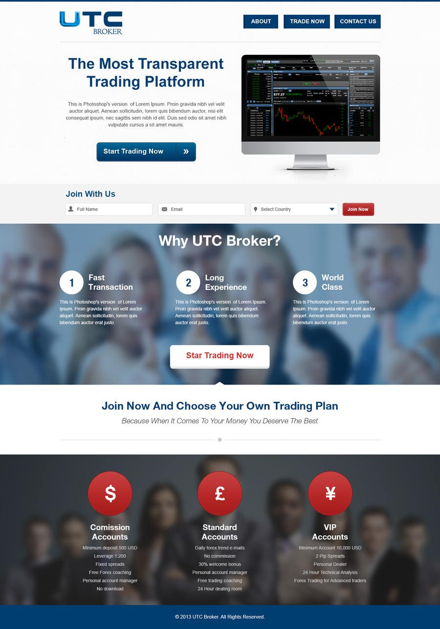 #9 for landing page design by edbryan