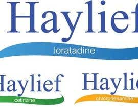 "#16 untuk Design a Logo for New Hayfever Tablet Box called ""Haylief"" oleh designerart94"