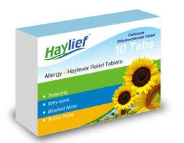 "#27 para Design a Logo for New Hayfever Tablet Box called ""Haylief"" por suneshthakkar"
