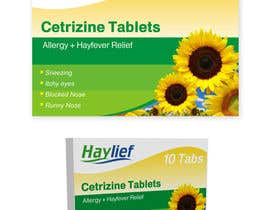 "#39 untuk Design a Logo for New Hayfever Tablet Box called ""Haylief"" oleh suneshthakkar"