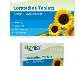 "#40 para Design a Logo for New Hayfever Tablet Box called ""Haylief"" por suneshthakkar"