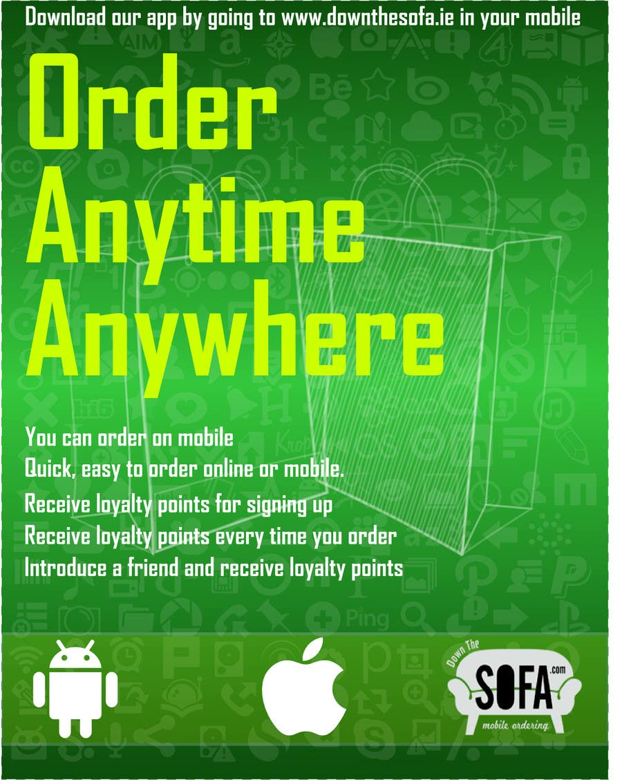 #4 for Design a promotional poster for a mobile app and loyalty programme by oswaldvillarroel