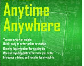 #4 for Design a promotional poster for a mobile app and loyalty programme af oswaldvillarroel