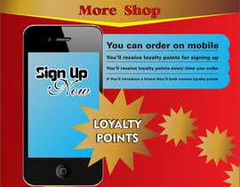 nº 2 pour Design a promotional poster for a mobile app and loyalty programme par oxygenwebtech