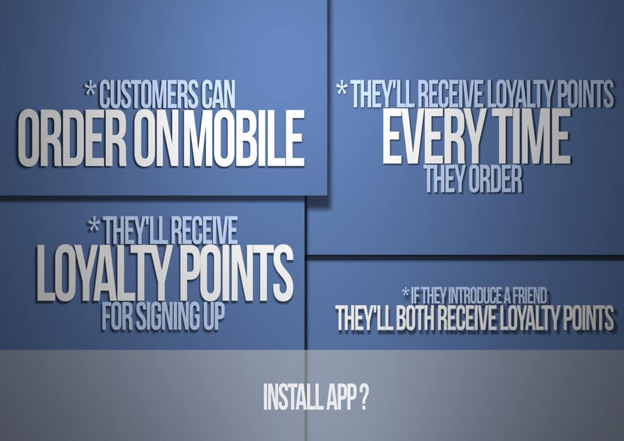 #17 for Design a promotional poster for a mobile app and loyalty programme by EFrad