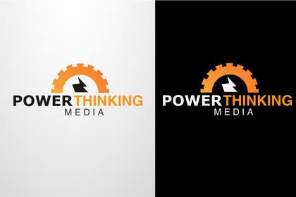 #295 untuk Logo Design for Power Thinking Media oleh danumdata
