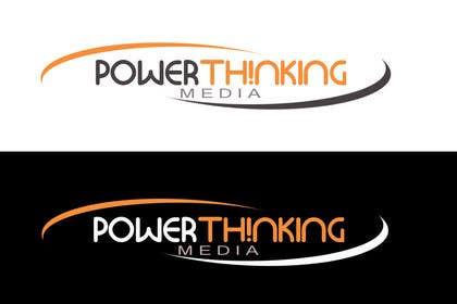 #345 for Logo Design for Power Thinking Media by CzarinaHRoxas