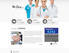 #15 for Design a Website Mockup for mlrems.org using henriettaambulance.org as design template by zumanur
