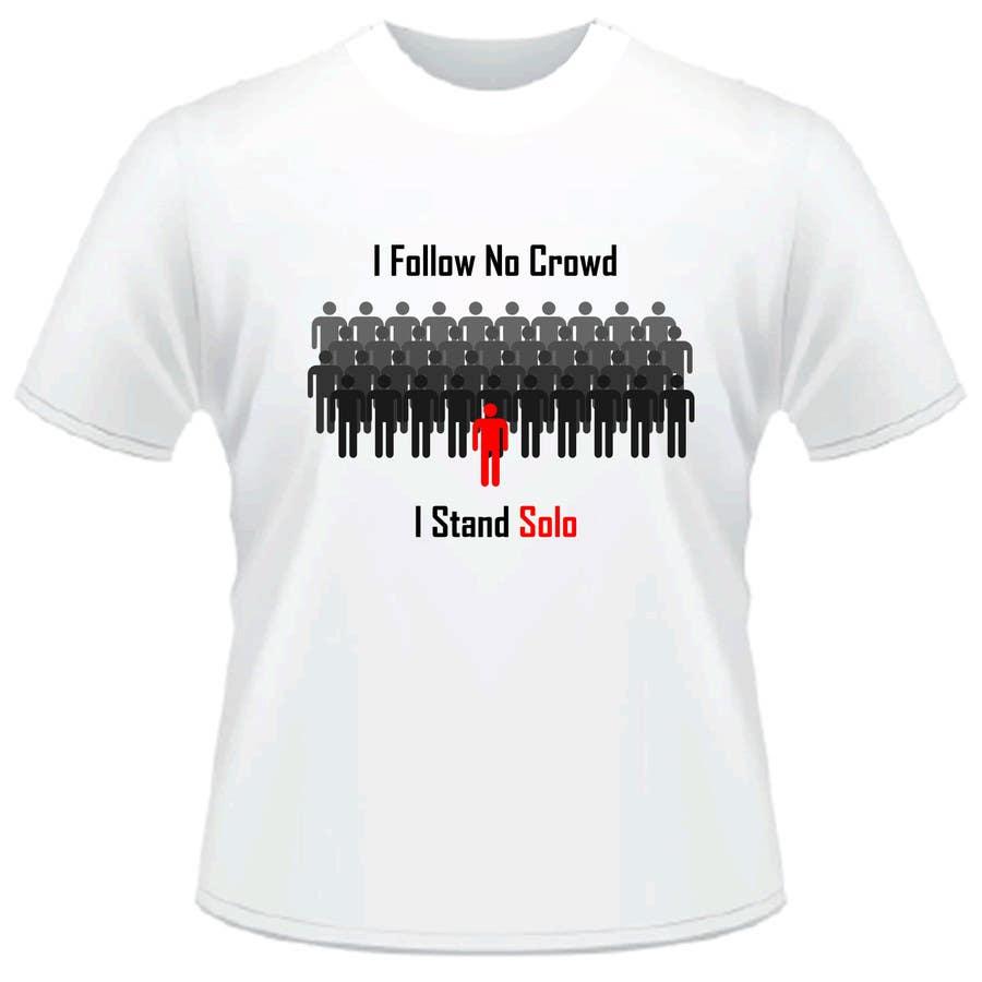 #9 for T-Shirt Design Idea by oswaldvillarroel