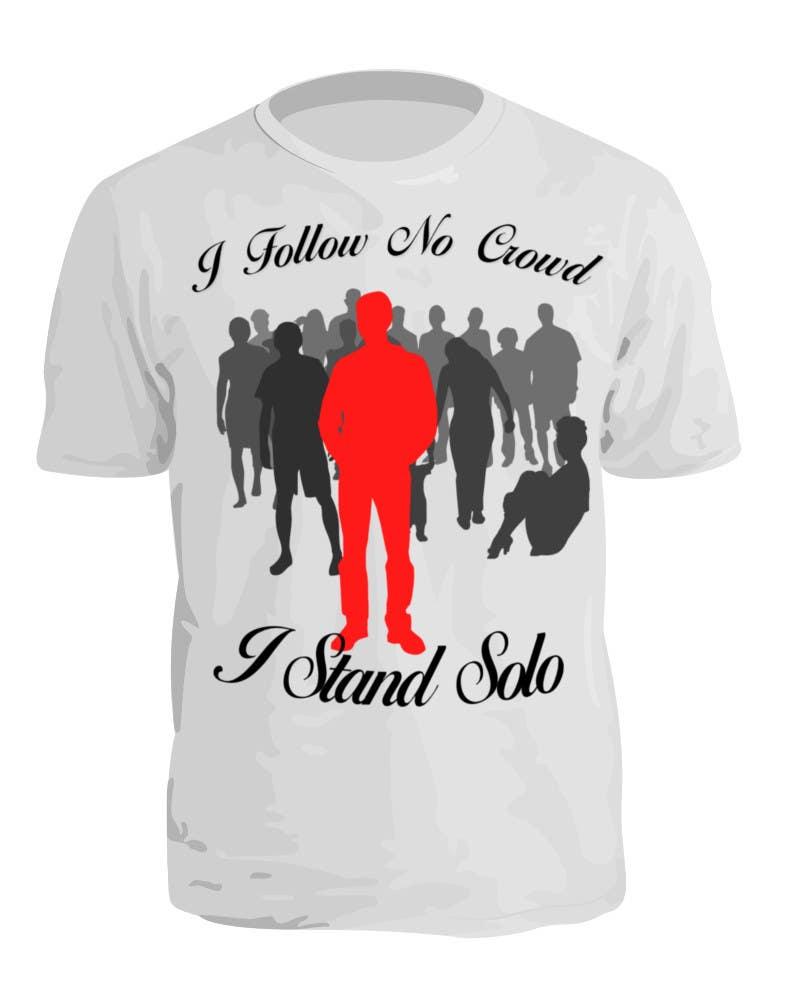 #19 for T-Shirt Design Idea by Pasztel