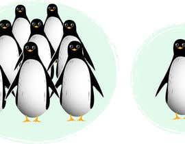 #24 untuk Illustrate a Cute Penguin and His Group!!! oleh azaremba